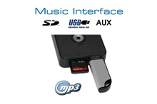 Digitales Music Interface USB SD AUX Mini ISO für Audi,...
