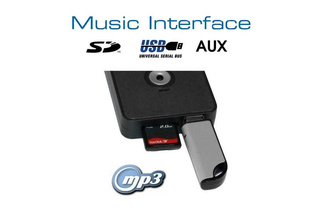 Digital Music Interface USB SD AUX Quadlock for Audi, VW, Seat, Skoda