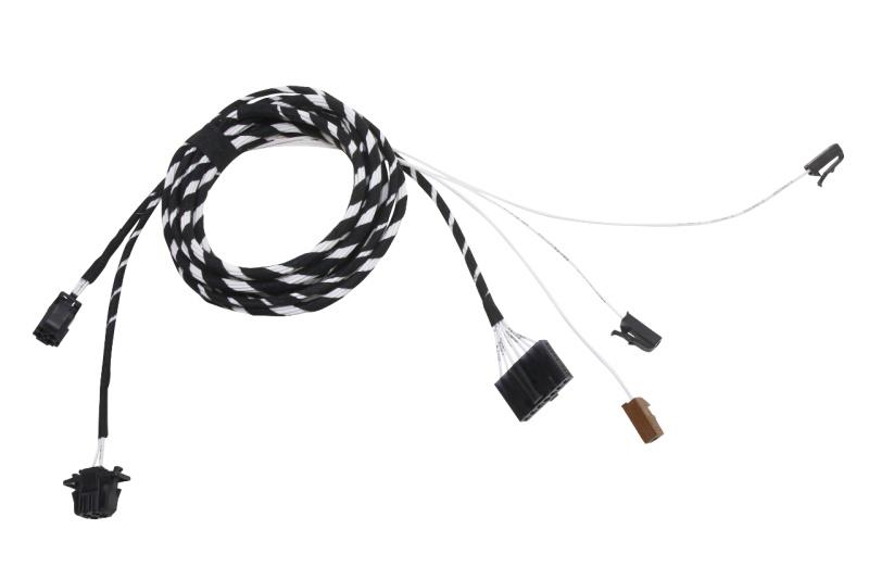Kabelsatz für den Anschluss einer Zubehör Sitzheizung im Skoda Octavia 1U