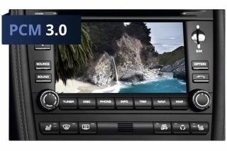 TV-Freischaltung  Plug /& Play für Porsche PCM 3.1