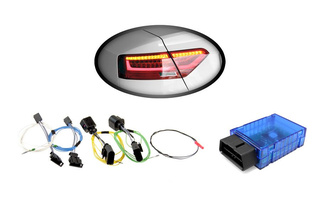 Kabelsatz + Codierdongle LED-Heckleuchten für Audi A5, S5 Facelift [Standard - US > auf > LED facelift - EU]