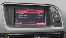 Active Sound incl. Sound Booster for Audi A4 8K, A5 8T,...