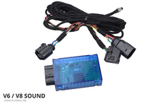 Sound Booster Pro Active Sound for Audi A4 8K, A5 8T