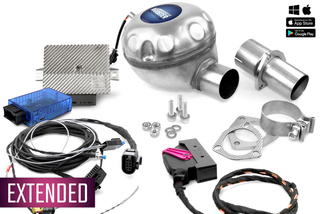 Universelles Komplettset Active Sound inkl. Booster - Innenmontage [Opel / PRO]