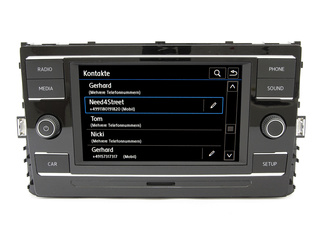 Bluetooth Haut-parleur Composition Color, NEUF #VW Golf VII 7 Tiguan AD1