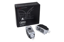 1 set of LED entry lights for Audi