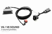 Sound Booster Pro Active Sound für Golf 7 VII GTD - Ohne...
