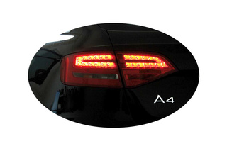 Kabelsatz + Codierdongle LED-Heckleuchten für Audi A4, S4 Avant